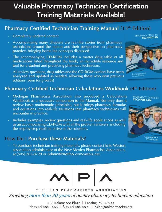 New Mexico Pharmacists Association Technician